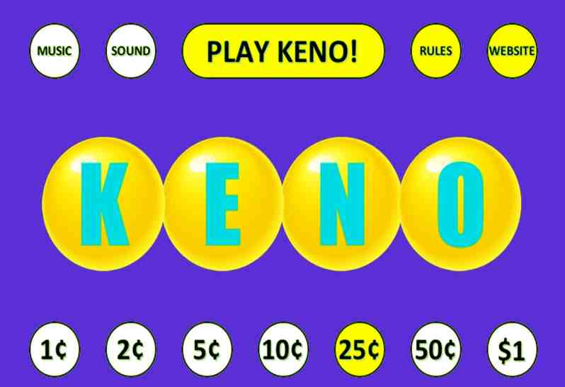 Keno Casino Games – How to Play Keno and Some Useful Tips for Beginners
